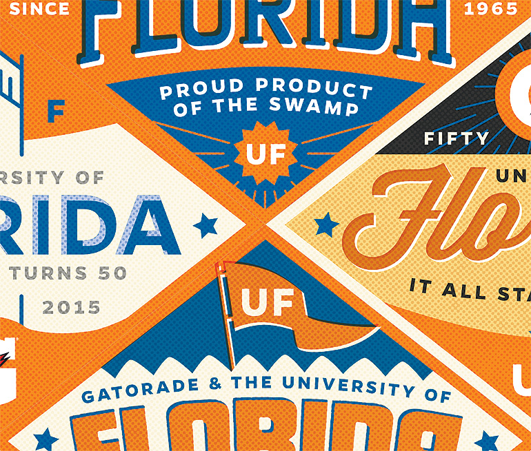 UF : Gatorade 50th Anniversary